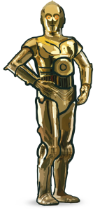 C-3PO for Star Wars feature